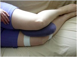 EZ Sleep Pillow - For back and joint pain sufferers, discomfort from hip surgery, knee surgery or pregnancy.